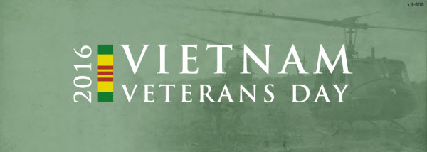 2016 Vietnam Veterans Day